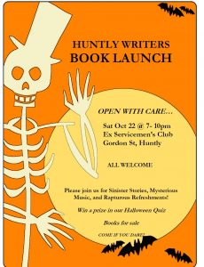 HW book launch poster